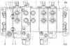 Гидрораспределитель РМ20-01 (ГРС20-10.1-51.2-51.4-30.1) для автокранов Челябинец КС-45721, КС-55730, Галичанин КС-45719, КС-55713, Клинцы КС-35719, КС-45719, КС-55713