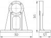 Кронштейн крепления барабана грузовой лебедки КС-3562А.44.001