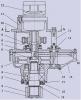 Механизм поворота с гидромотором КС-2574.28.100-1-03К