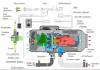 Температурный переключатель 965-8101150 отопителя салона О30-0010-20 (12В, 24В)